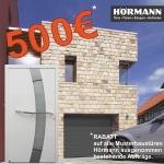 500 € Rabatt Hörmann Musterhaustüren