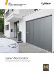 Garagen-Seitensectionaltore-Katalog